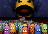 Pacman Gaming Art Print/Poster. Sizes A4/A3/A2/A1